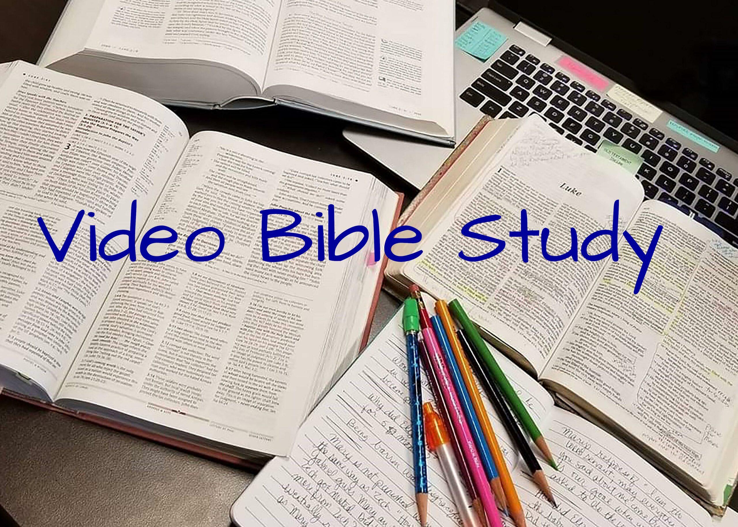 video Bible study